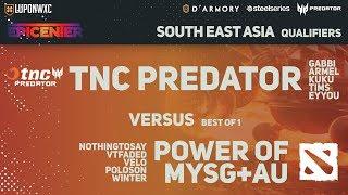 tnc predator vs power of mysgau bo1 epicenter major sea qualifiers