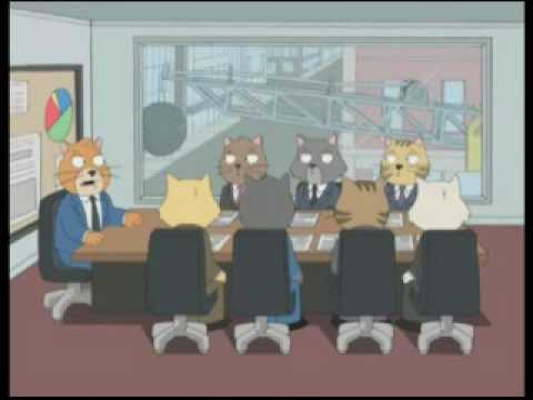 Family Guy - Cat Staff Meeting
