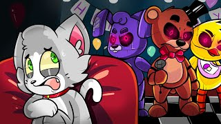¡RETO DE LA BASE VS ANIMATRÓNICOS FIVE NIGHTS AT FREDDY'S! 😱🐻 SOBREVIVIREMOS? - MINECRAFT (FNAF)