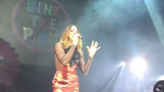 melanie c never be the same again sink the pink london