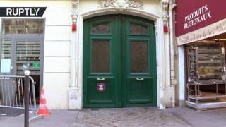 В Париже неизвестные пытались поджечь здание штаб квартиры Ле Пен