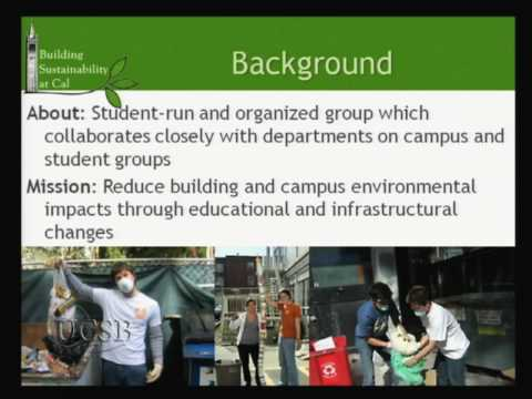 Student-Led Office Greening and Building Greening Programs