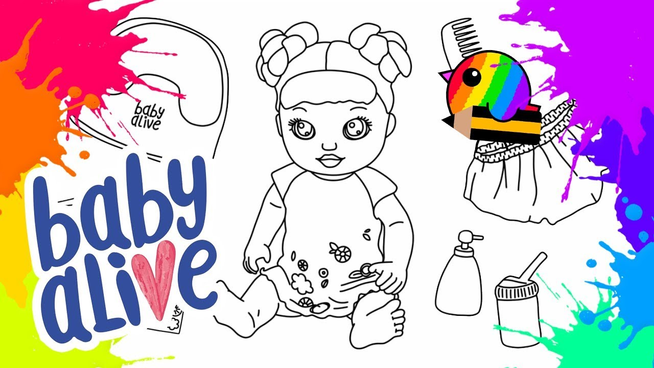 - Drawing And Coloring Baby Alive Potty Dance - YouTube