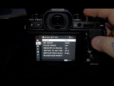 how to change aperture sony a7sii