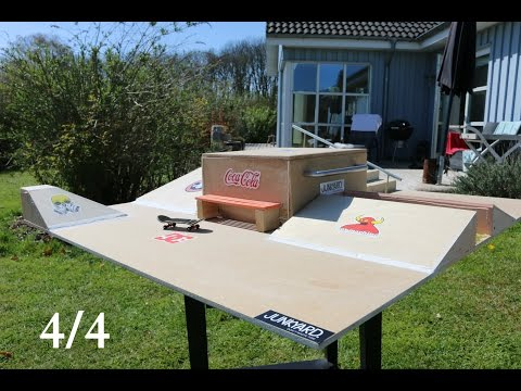 How To Build A Fingerboard Park Tutorial 44
