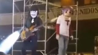 i put spongebob music over a terrible gorillaz performance