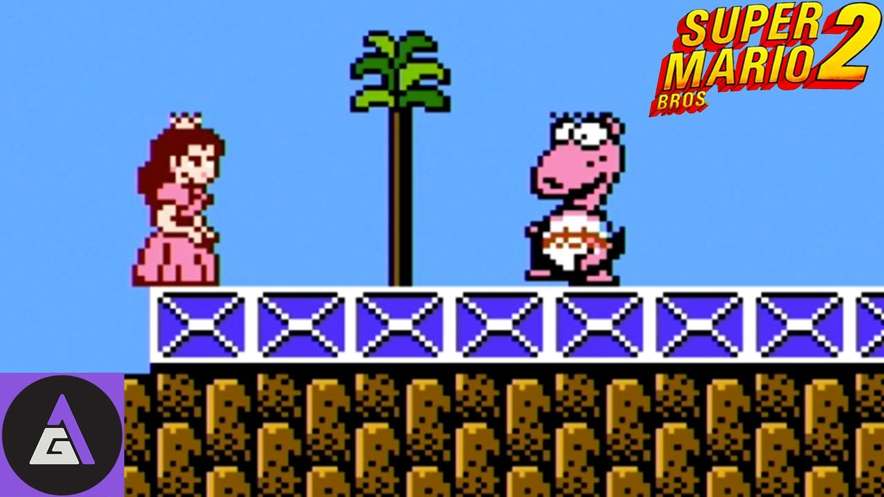 Let S Play The Nes Classic Super Mario Bros 2 Youtube