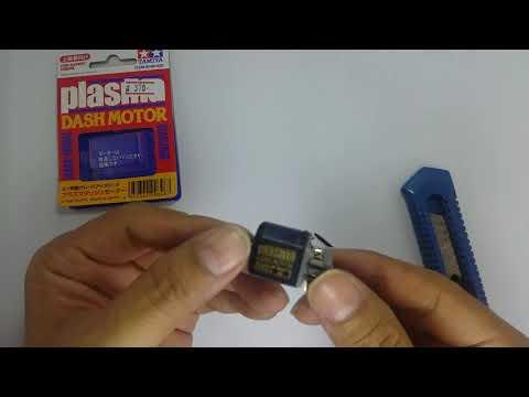 Disassembling Tamiya Plasma Motor