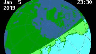 A Partial Solar Eclipse Will Darken The Sky From Asia to Alaska