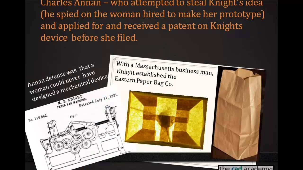 Margaret E. Knight, Inventor - YouTube