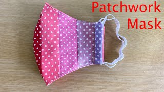 Cute Patchwork Easy Pattern Mask Face Mask Sewing Tutorial How to Make a Face Mask Mascarilla