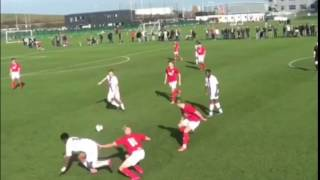 Unbelievable nutmeg by 16 year old Crystal Palace baller Jordan Norman-Williams