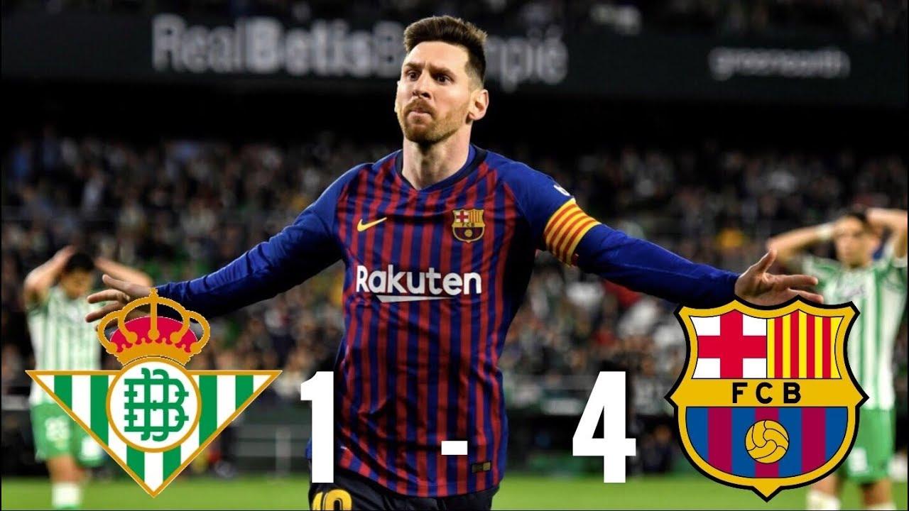 Real Betis Vs Barcelona   La Liga  Match Review