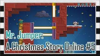 Игра Мистер Прыгун: Рождественская История Онлайн 5 - Прохождение Игры с 18 до 20 Уровня / Levela
