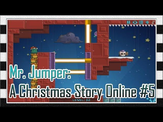 Игра Мистер Прыгун: Рождественская История Онлайн #5 - Прохождение Игры с 18 до 20 Уровня / Levela