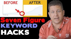 Seven Figure Keyword Hacks - How To Find Niches That Make BIG Money With Keyword Tools