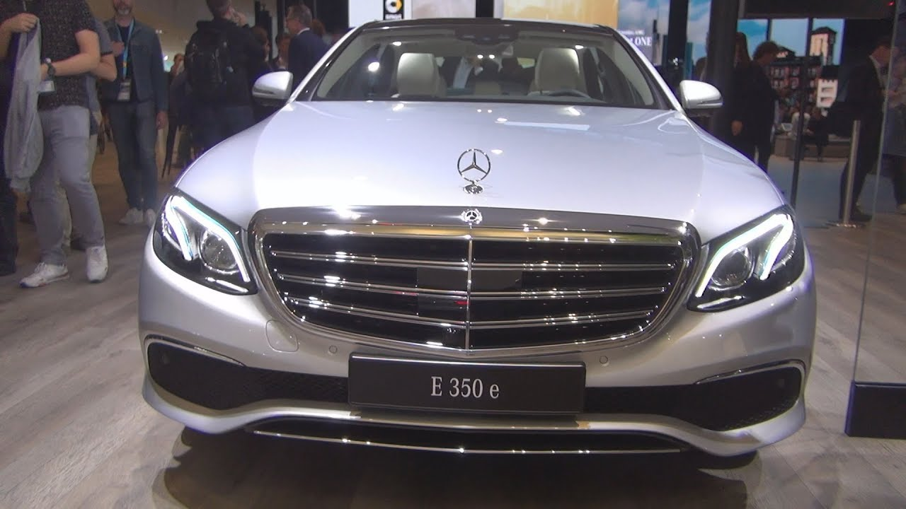 Mercedes Benz E 350 E Limousine 2018 Exterior And Interior Youtube