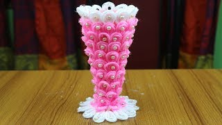 DIY Innovative Ideas Of Flower Vase || How to make flower vase - Craft ideas - Best out of waste