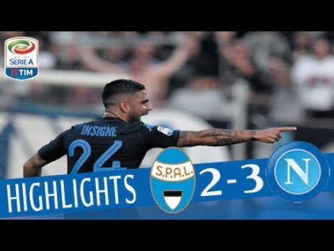 Spal - Napoli 2-3 - Highlights - Giornata 6 - Serie A TIM 2017/18