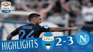 Spal - Napoli 2-3 - Highlights - Giornata 6 - Serie A TIM 2017/18 streaming