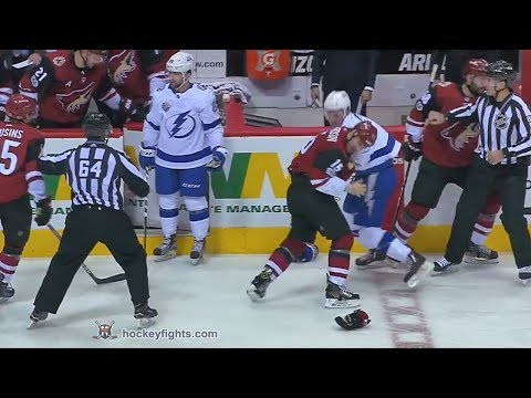 Brayden Point vs Brad Richardson Dec 14, 2017