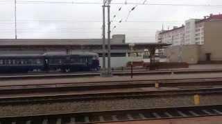 Гомель Четный - Гомель Пассажирский из окна поезда
