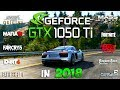 GeForce GTX 1050 Ti Test in 10 New Games (i3 8100)