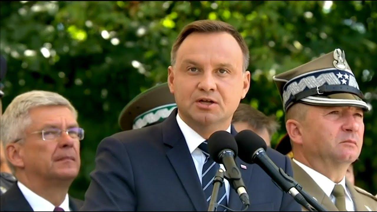Mocne wystąpienie Prezydenta na obchodach Święta Wojska Polskiego o suwerenności i obronności Polski