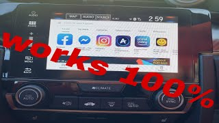 How to install apps on your honda