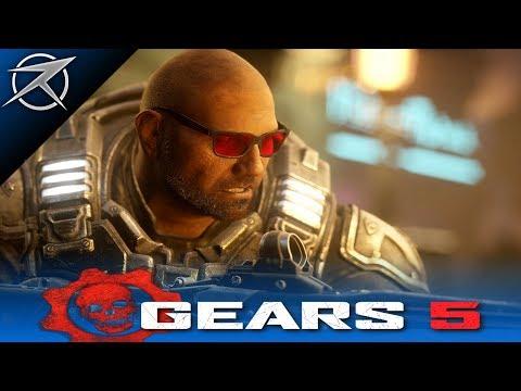 GEARS 5 - WWE Dave Bautista Character Gears 5 Trailer (GEARS 5 Batista Character Trailer)