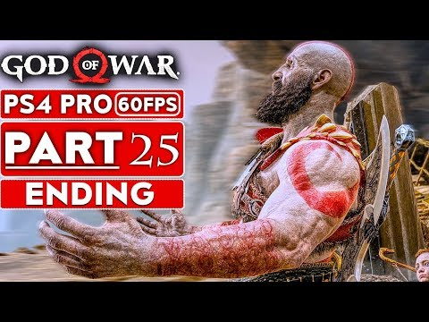 GOD OF WAR 4 ENDING Gameplay Walkthrough Part 25 [1080p HD 60FPS PS4 PRO] - No Commentary