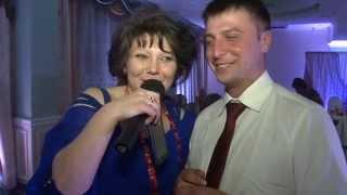 ведущая Елена Корнилова. Отзывы  Свадьба в кафе