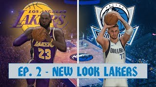 NBA 2K20 Mavericks MyLeague (Y1) Ep. 2  G5 vs Lakers | Showtime Lakers, 2.0?