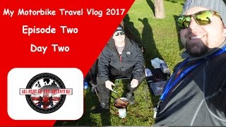 Goodman's Motorbike Travel Vlog, Trip to France Day 2