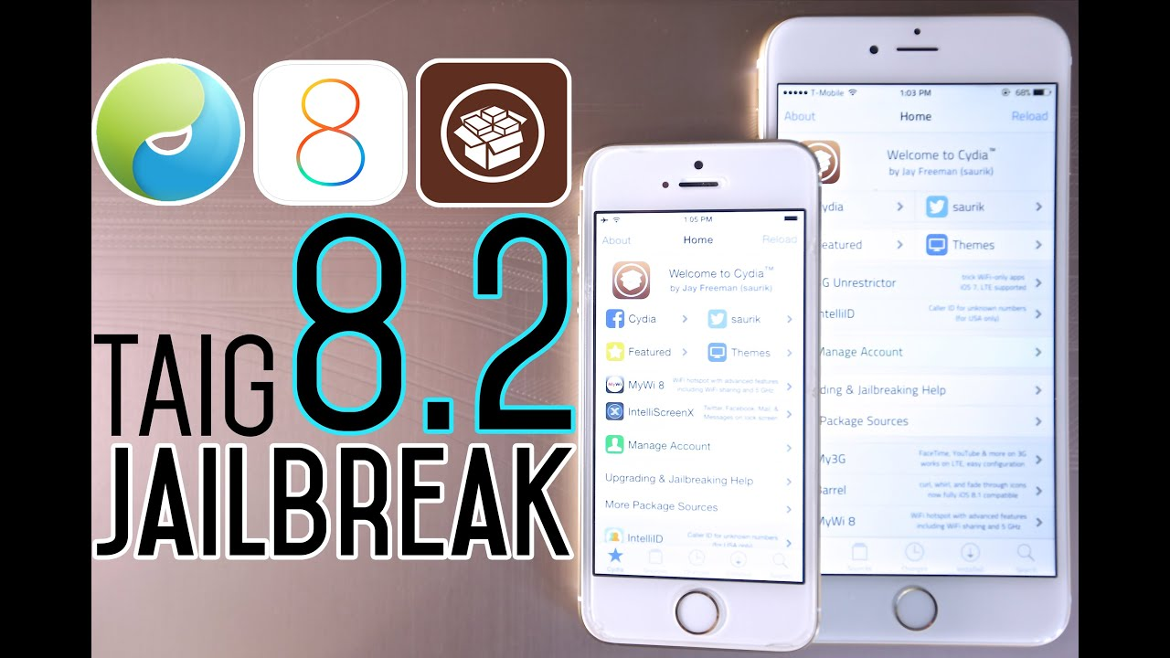 How To Jailbreak iOS 8.2 Untethered - Taig 8.1.3 to 8.2 Beta Update