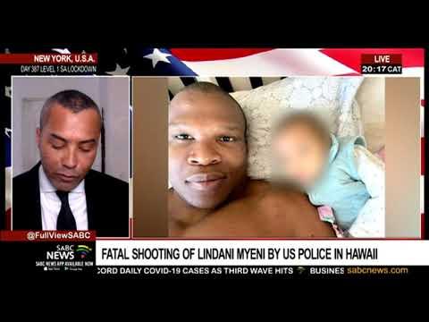 Shock over killing of Lindani Myeni in the US