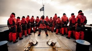 "Harlem Shake in Antarctica - ""Shackleton Shake"" Sea Shepherd Style!"
