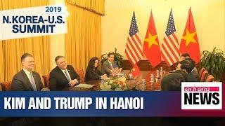 Kim, Trump arrive in Hanoi ahead of second N. Korea-U.S. summit