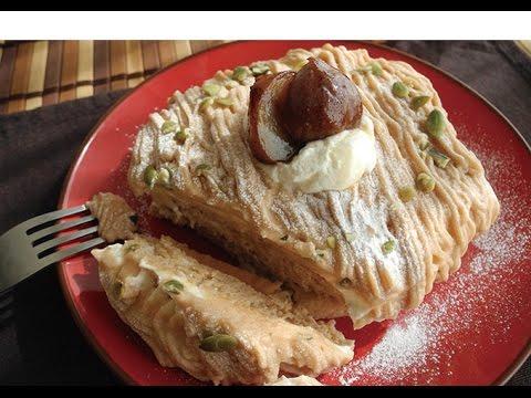 Mont blanc pancake recipe youtube for Mont blanc recipe