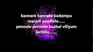 Kannare Kannare Lyrics - Rakshasa Rajavu - Malayalam Movie Song