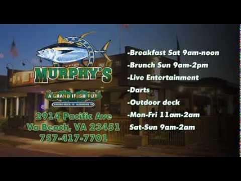 MURPHY'S IRISH PUB /RESTAURANT IN VA BEACH