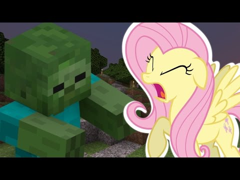 Fluttershy Plays Minecraft II Fluttershy's Fight for Survival