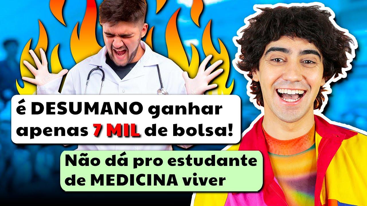 O ESTUDANTE DE MEDICINA PRECISA SER PARADO (por favor não me internem)
