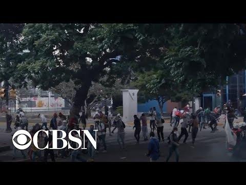 Venezuelan citizens forced to flee amid political turmoil