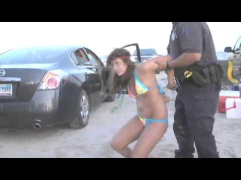 Party Heat - Girl in Bikini Resists Arrest - Party Heat - Girl in Bikini Resists Arrest