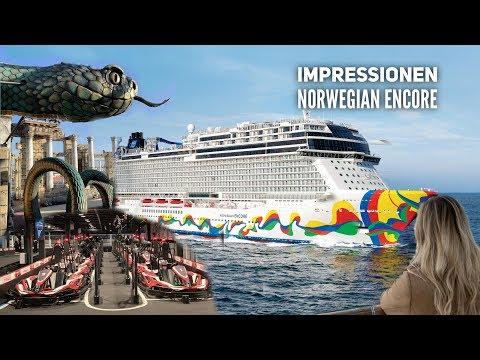 Norwegian Encore - Shiptour & Highlights