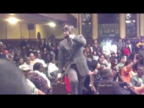 James Hall WAP - Singing God Will Take Care: 3-09-13 (Atlantic City, NJ)