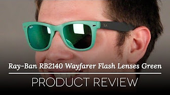 faef379a1c Popular Videos - Ray-Ban Wayfarer   Mirrored sunglasses - YouTube