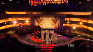 Lady Antebellum in American Idol -Just a Kiss