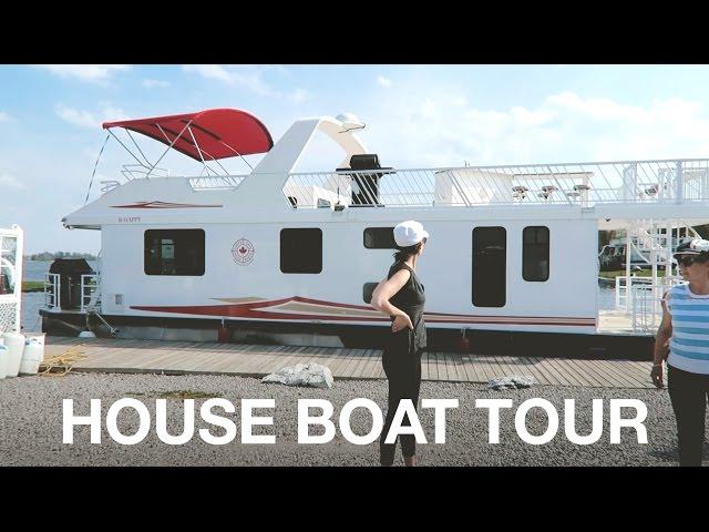 LUXURY HOUSE BOAT TOUR